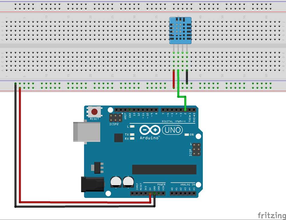 Zona Maker Sensor De Temperatura Y Humedad