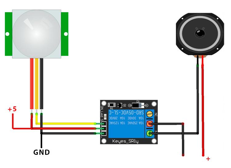 Zona Maker Sensor Pir Para La Detecci 243 N De Presencia