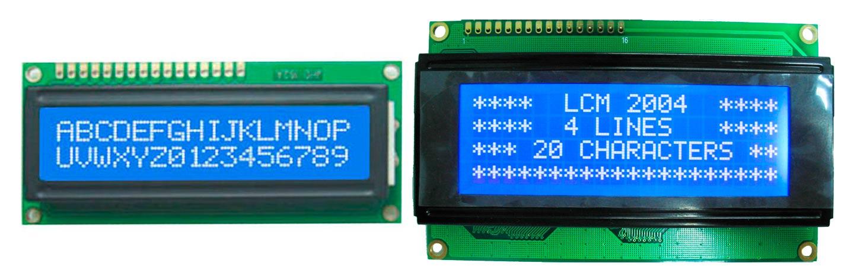 Zona Maker - Tipos de LCD para Arduino