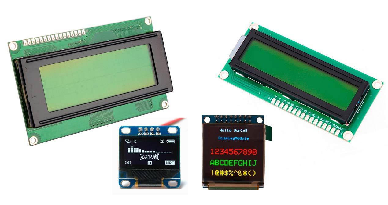Zona Maker Tipos De Lcd Para Arduino